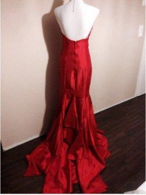 Abendkleid Schleppe Hochzeitskleid Cocktailkleid Brautkleid