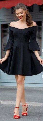 Abendkleid schwarz 36/38 S