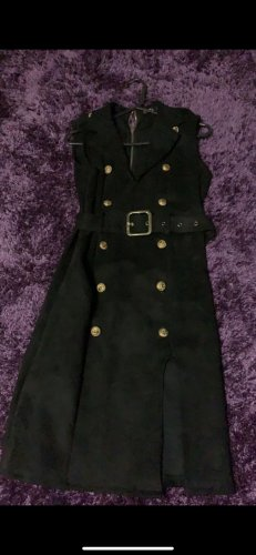 Abendkleid schwarz/gold