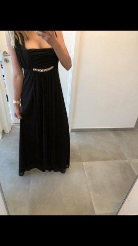 Abendkleid schwarz Kleid lang Cocktailkleid Hochzeit 38 m 40 Mode Fashion Jäckchen