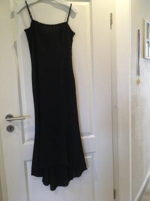 Abendkleid schwarz mit Perlen