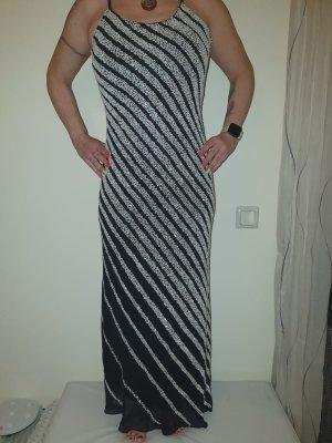 Abendkleid schwarz /Silber