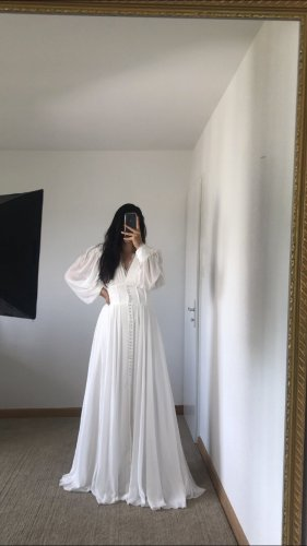 Azra Robe de soirée blanc