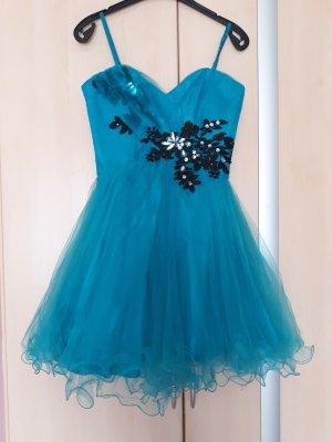 ASHWI Paris Evening Dress turquoise