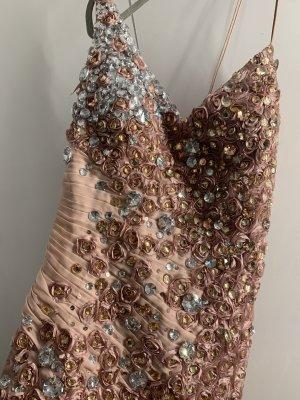 Abendkleid Verlobung Maxi Kleid S/M