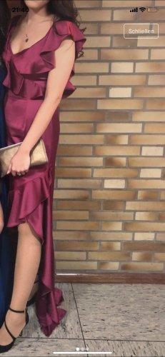 Adrianna Papell Vestido de noche púrpura