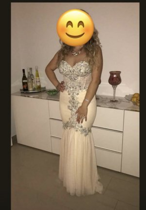 eDressit Evening Dress cream-nude
