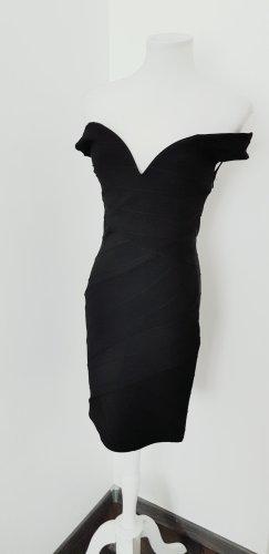 Miss Selfridge Sukienka z krótkim rękawem czarny