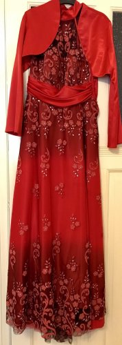 markenlos Robe de bal rouge polyester