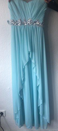 Adrianna Papell Robe trapèze bleu clair