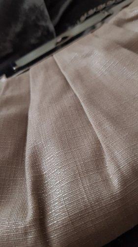 Accessorize Bolso de tela color oro