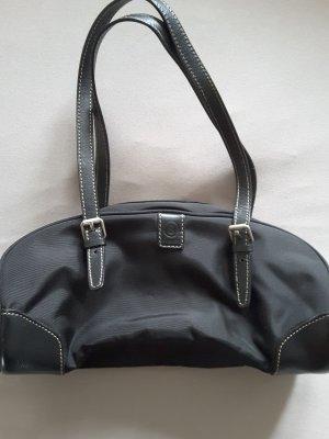 Abendtasche Handtasche Baguetteform Bogner schwarz