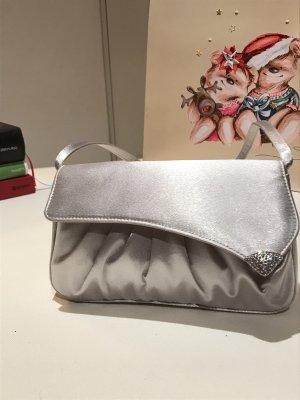 Abendtasche in Silber
