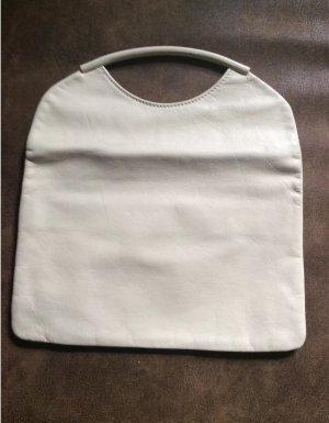 Bolso con correa blanco puro