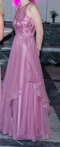 Abenkleid Trauzeuginkleid Brautjungfernkleid dusty pink