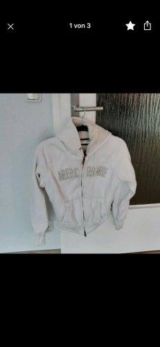 Abercrombie & Fitch Veste à capuche blanc