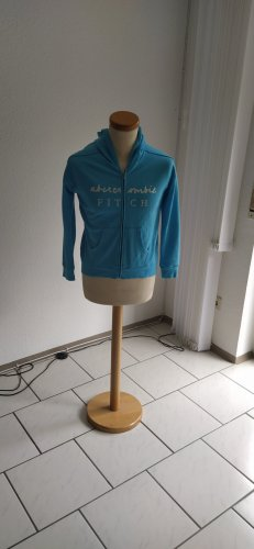 Abercrombie & Fitch Chaqueta estilo camisa turquesa
