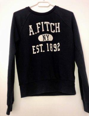 Abercrombie A&F Pullover Sweatshirt XS S Neu Ungetragen Marineblaue