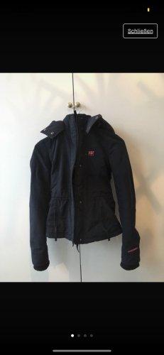Abercrombie & Fitch Raincoat neon pink-dark blue