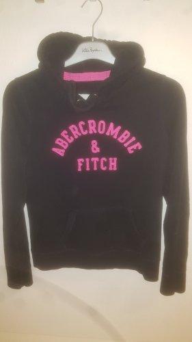 Abercrombie & Fitch Maglione con cappuccio rosa-blu scuro