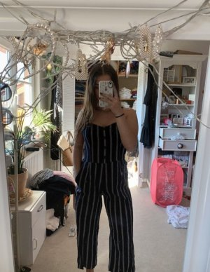Abercrombie and Fitch Overall Jumpsuit Romper