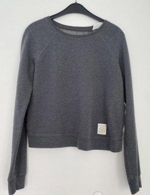 Abercrombie & Fitch Sweatshirt gris anthracite-gris foncé