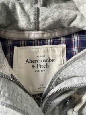 Abercrombie & Fitch Veste sweat gris clair