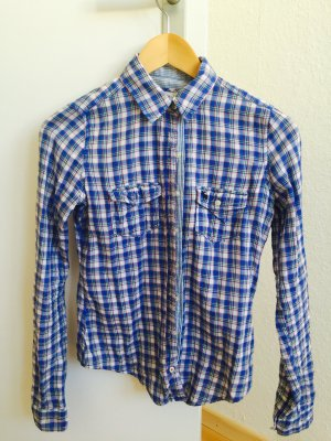 ABERCROMBIE Bluse in XS blau