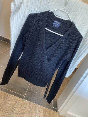 Abercrombie & Fitch Pull tricoté noir