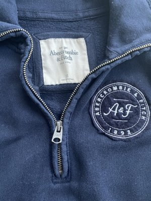 Abercrombie & Fitch Pullover in pile blu scuro