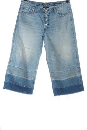 Abercrombie & Fitch Jeans 3/4 bleu style décontracté