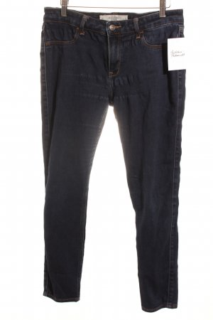 Abercrombie & Fitch 7/8 Jeans dunkelblau Casual-Look