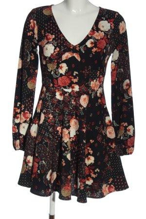 Abercrombie & Fitch A-Linien Kleid abstraktes Muster Elegant