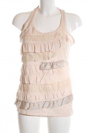 Abercrombie & Fitch A-Linien Top nude Casual-Look