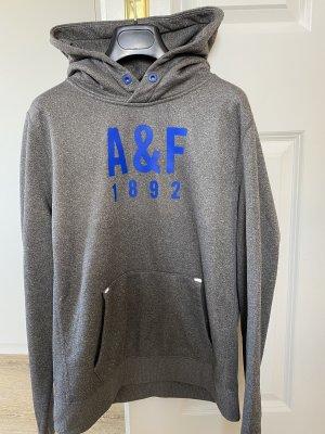 Abercrombie & Fitch Sweat à capuche gris clair-gris