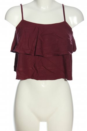 Abercrombie & Fitch Mouwloze blouse bruin casual uitstraling