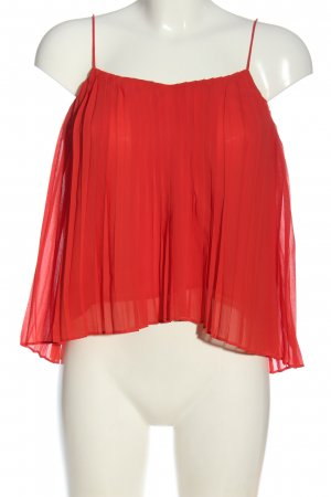 Abercrombie & Fitch Blusa rosso stile casual