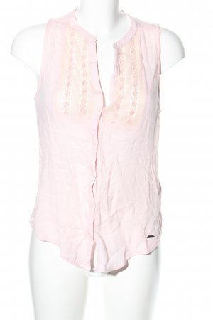 Abercrombie & Fitch ärmellose Bluse pink Blumenmuster Casual-Look