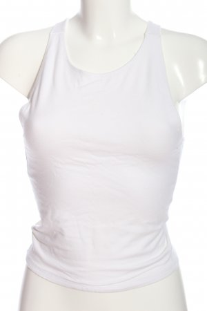 Abercrombie & Fitch Cropped Top weiß Casual-Look