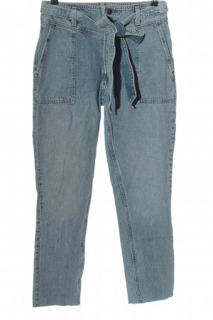 Abercrombie & Fitch Baggy jeans blauw casual uitstraling