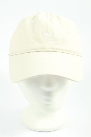 Abercrombie & Fitch Baker's Boy Cap white embroidered lettering casual look