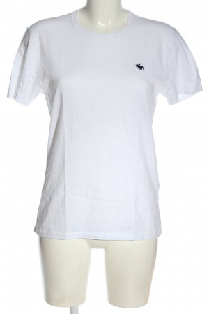 Abercrombie & Fitch  bianco stile casual