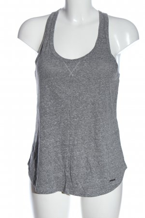 Abercrombie & Fitch Basic Top hellgrau Casual-Look