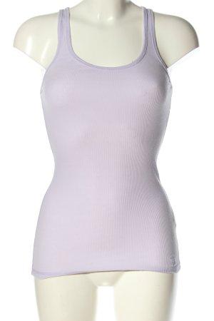 Abercrombie & Fitch Haut basique violet style décontracté