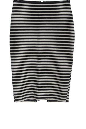 Abercrombie & Fitch Kokerrok zwart-wit volledige print casual uitstraling