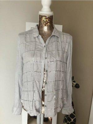 Abercrombie & Fitch Bluzka z długim rękawem jasnoszary