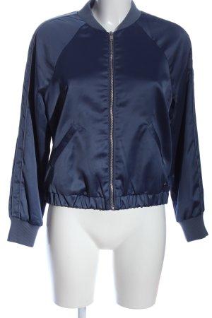 Abercrombie & Fitch Bomberka niebieski W stylu casual