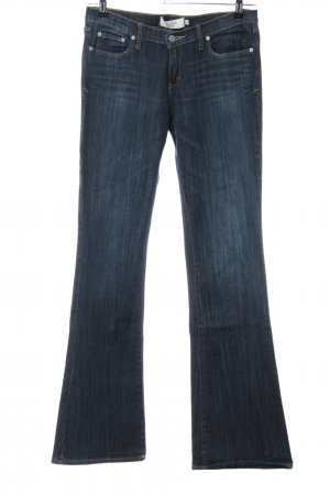 Abercrombie & Fitch Boot Cut Jeans blau Casual-Look