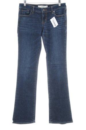 Abercrombie & Fitch Boot Cut Jeans blau schlichter Stil