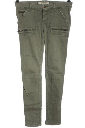 Abercrombie & Fitch Pantalon boyfriend kaki style décontracté